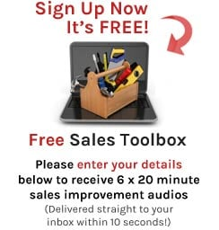 Sales Skills Toolbox Sign-Up