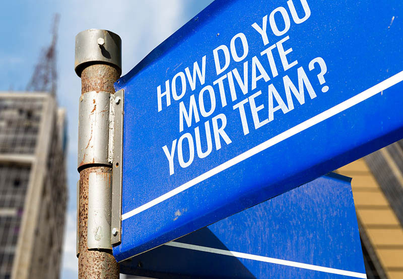 how do motivate your team sign