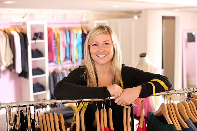 Retail staff in store