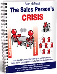 The Sales Person's Crisis book cover