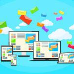 Responsive Design Digital Marketing Email Laptop Phone Tablet