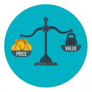 Price and value scales