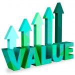 Value building with arrows