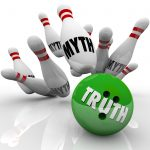 Truth vs Myths Bowling Ball Striking Pins