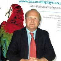 Peter Bowen, CEO of Access Displays