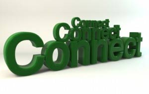 Green word connect