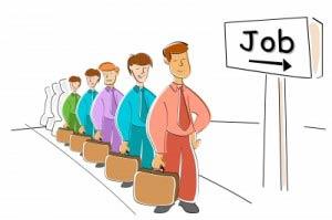 queue to job