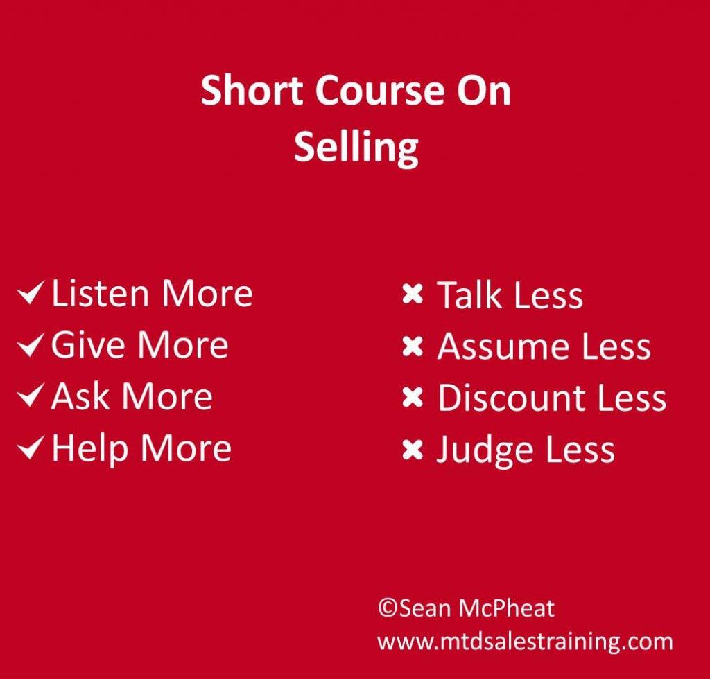 short course sales