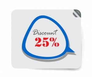 Discount 25%