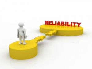 red word Reliability