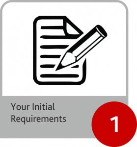 Your Initial requirements