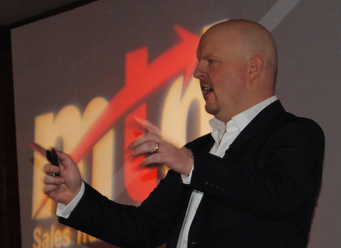 Sean McPheat at Sales Summit1