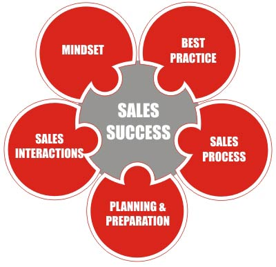 Sales coaching model