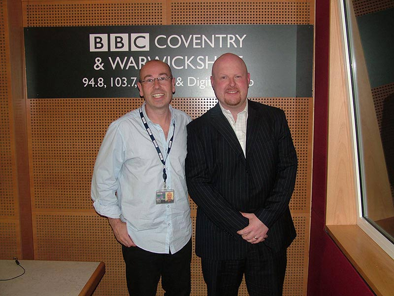 Sean McPheat on BBC Radio