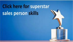 Superstar Sales Person