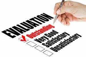 Evaluation checkbox