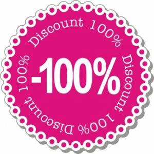 100% discount