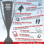 MTD Sales Training Worst Sales Person Of The Year
