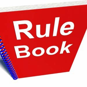 rule book red