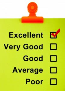 Excellence in checklist