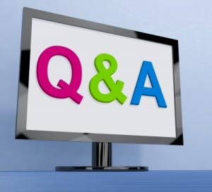 Q&A in monitor