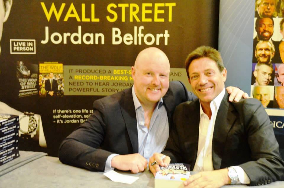 Sean McPheat meets Jordan Belfort