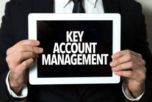 Key account management on tablet