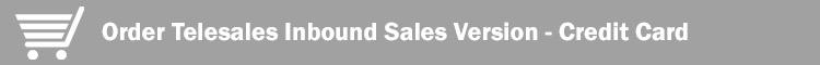 CC Inbound Sales