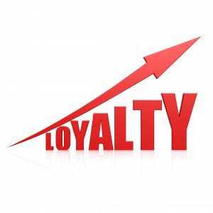 Loyalty red arrow