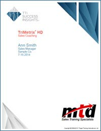 TriMetrix Report Cover