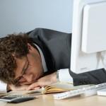 Asleep at work