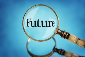 Future in Magnifying glass
