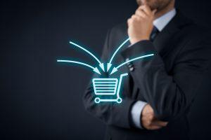 E-commerce Marketing shopping cart