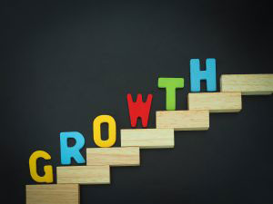 Growth on ladder