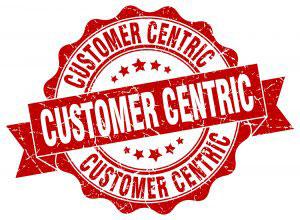 Customer Cantric stamp