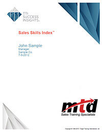 Sales Skills Report Cover