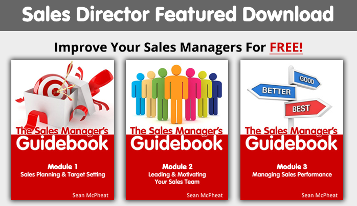 Salesdirector 3 boxes