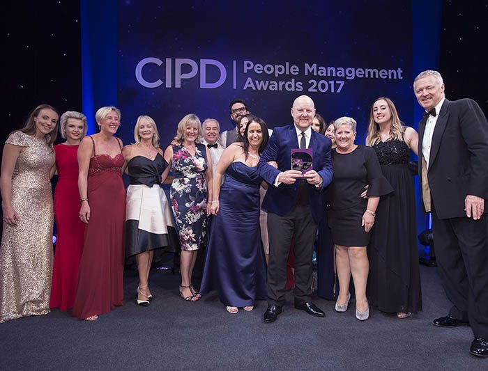 CPID award team photo