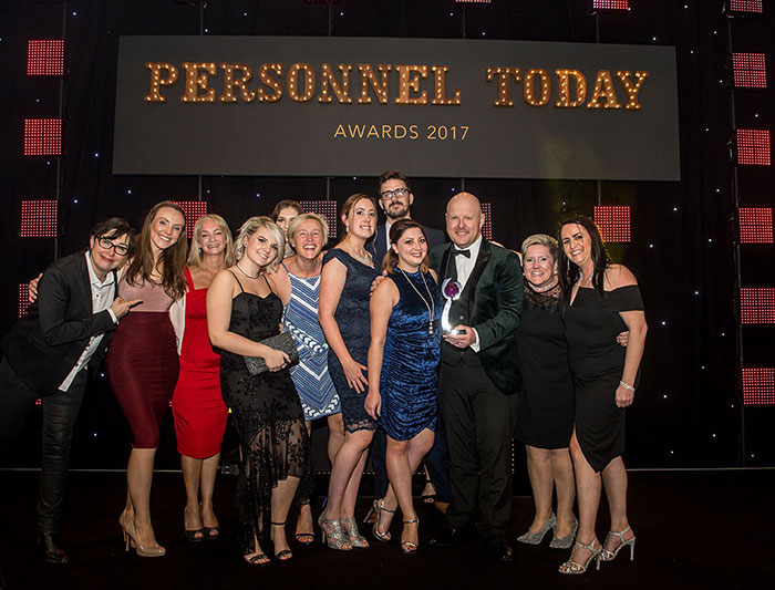 Personnel Today Best HR Supplier Partnership Award Winner 2017