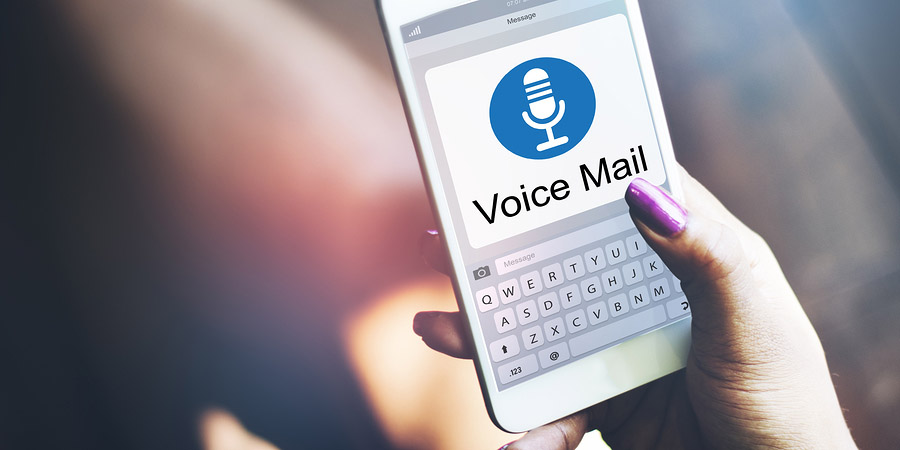 Leave voicemail message