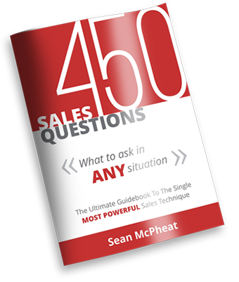 Sales questions ebook cover