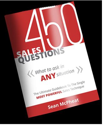 Sales questions ebook cover