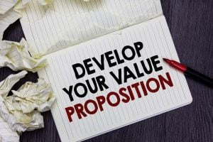 Develop Your Value Proposition on paper