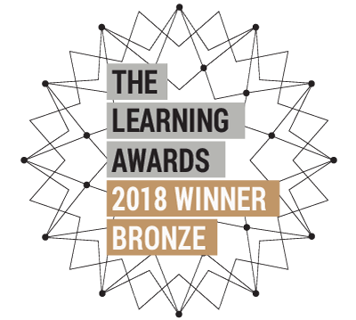 Learning Awards bronze winner