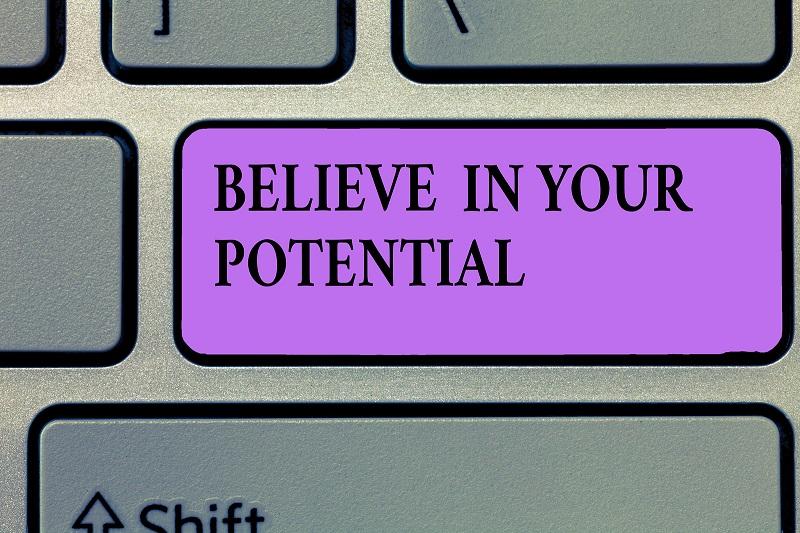 Believe in Potential keyboard