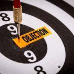 Objection dart board and darts