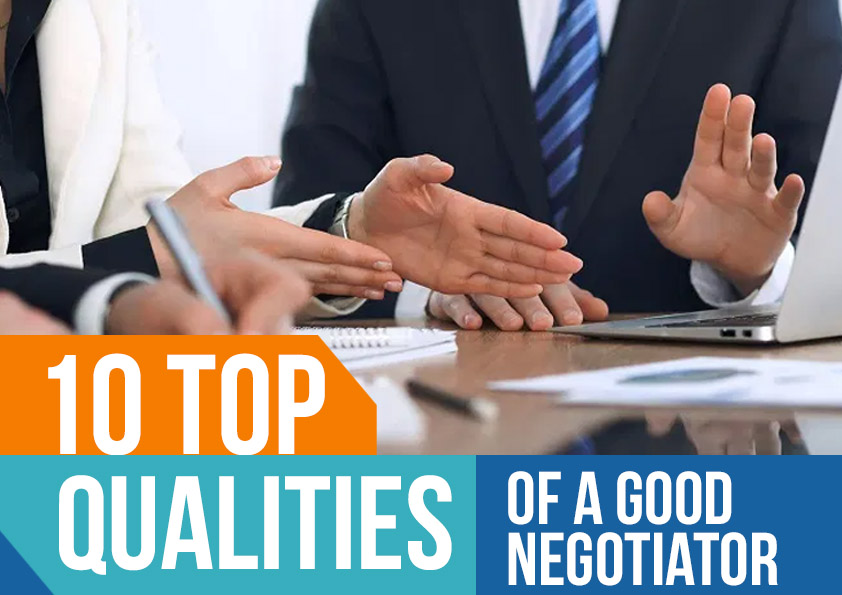 10 qualities for negotiator cover
