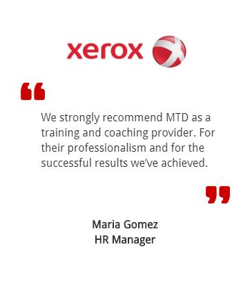 Xerox testimonial